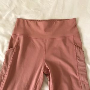 Light Pink Work Out Leggings size L/XL